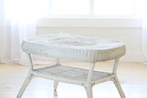 Wicker Table  31x18x18
